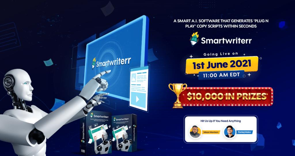SmartWriterr Review and Bonuses
