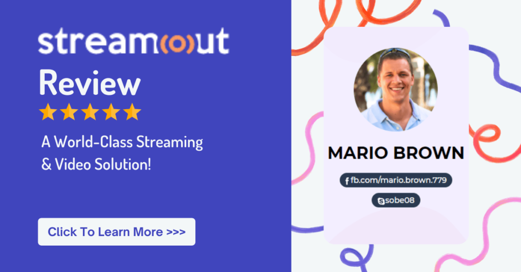 Streamout review