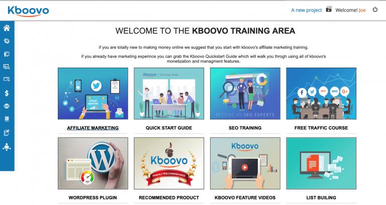Kboovo Training