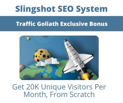 Traffic Goliath Bonuses