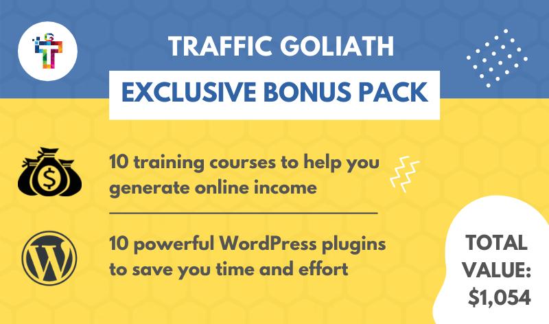 Traffic Goliath Bonus Pack