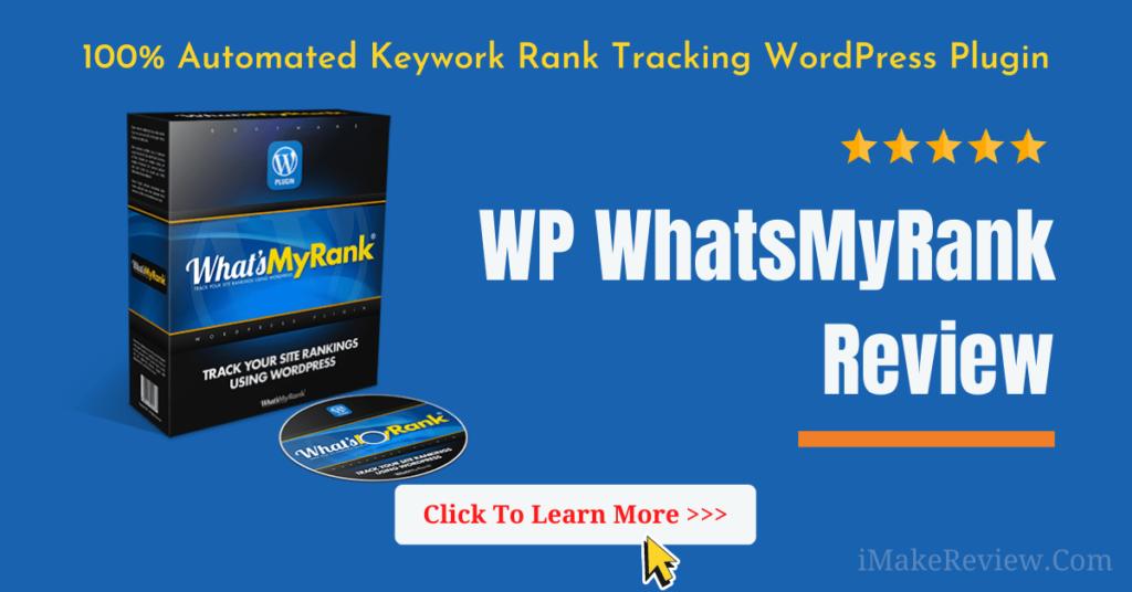 WP WhatsMyRank Review