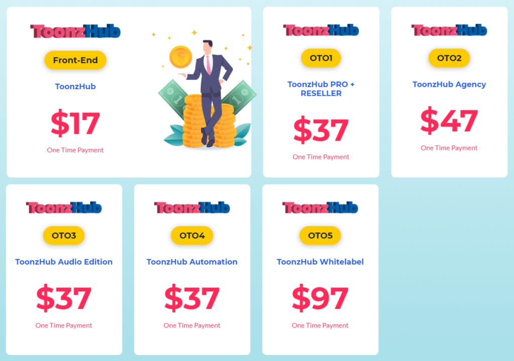 ToonzHub Pricing